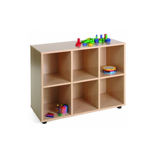Mo mueble bj con  6 casillas