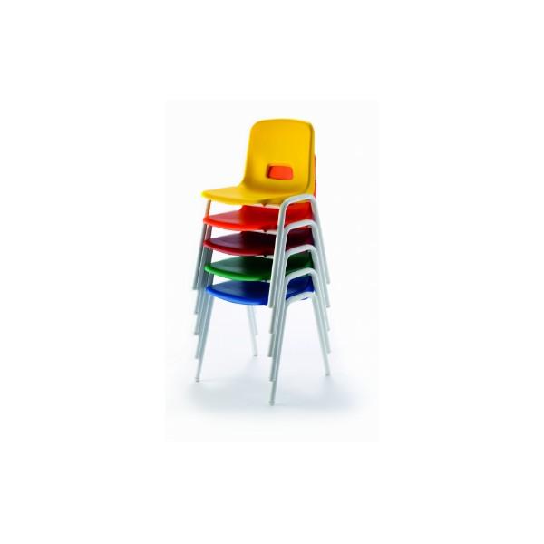 Mo silla mod 209 32cm pp azul pata gris