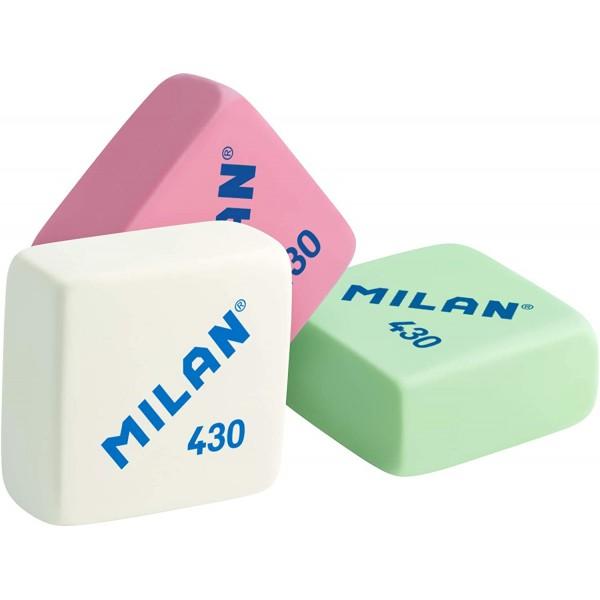 Caja gomas de borrar Milan 430