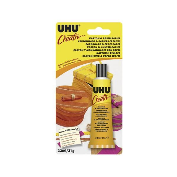 Adhesivo UHU Creativ para carton y papel
